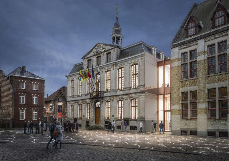 stadHUIS Roeselare wordt het meest duurzame stadhuis van Vlaanderen