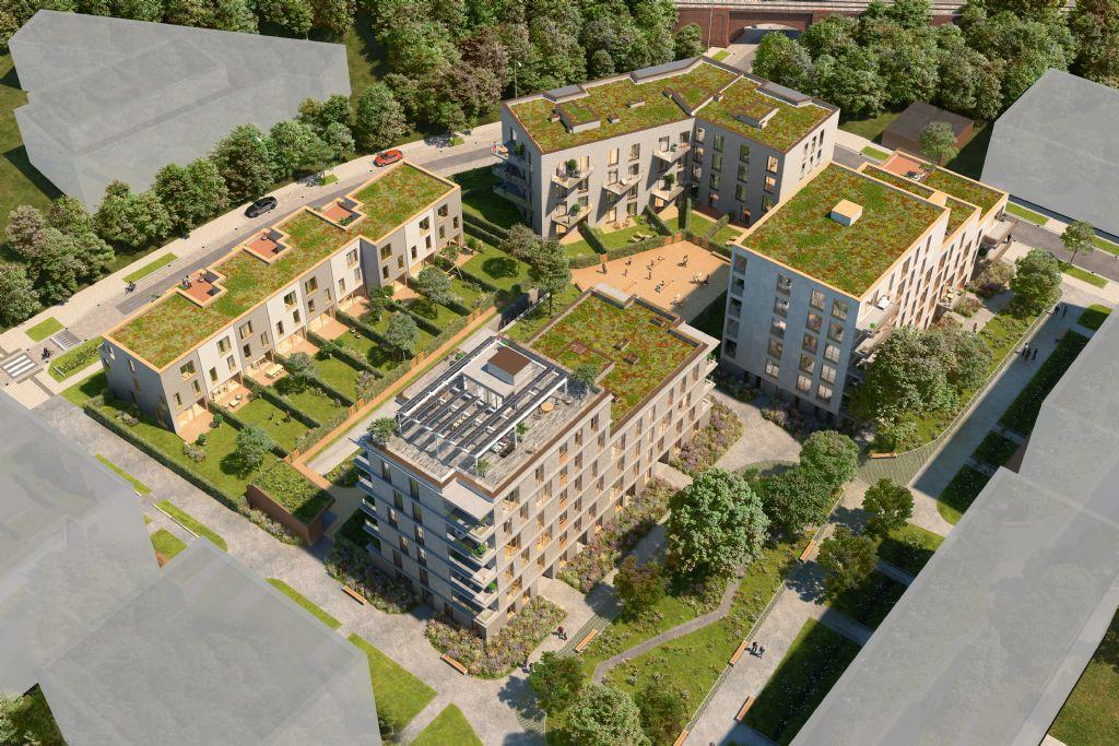 Nieuw Gents stadsdeel LUX/Forum: van industriële site tot groene oase voor wonen en werken