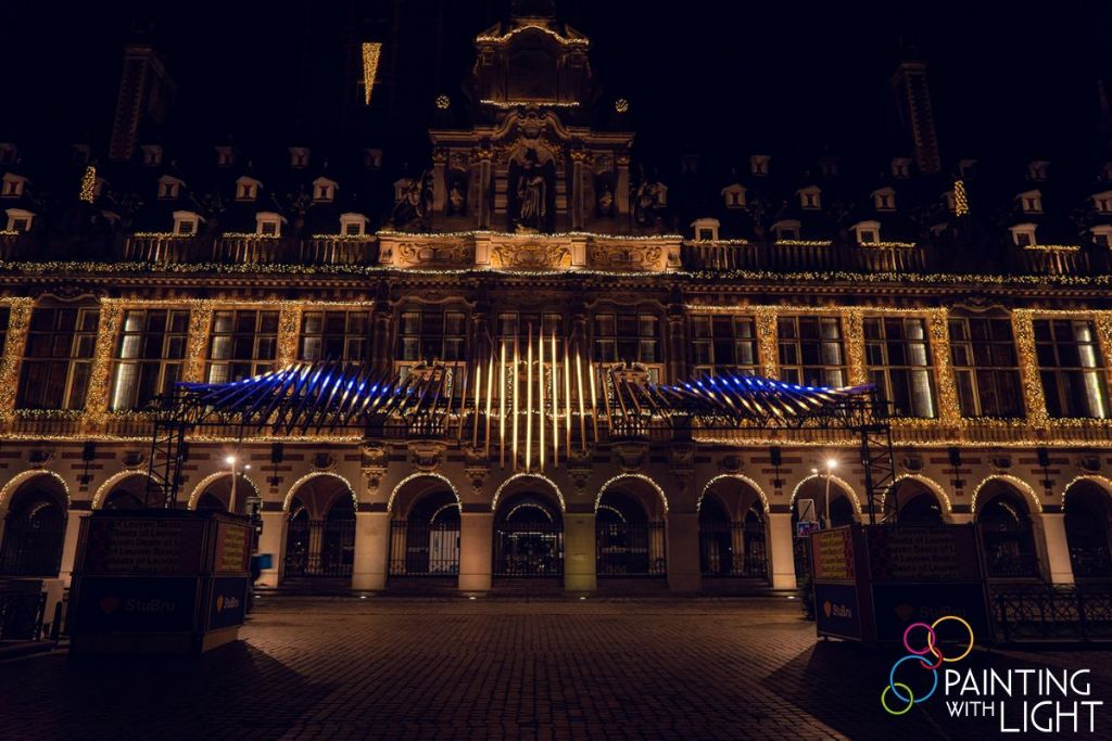 Painting with Light steekt warm hart onder de riem met muzikale lichtinstallatie Beats of Leuven