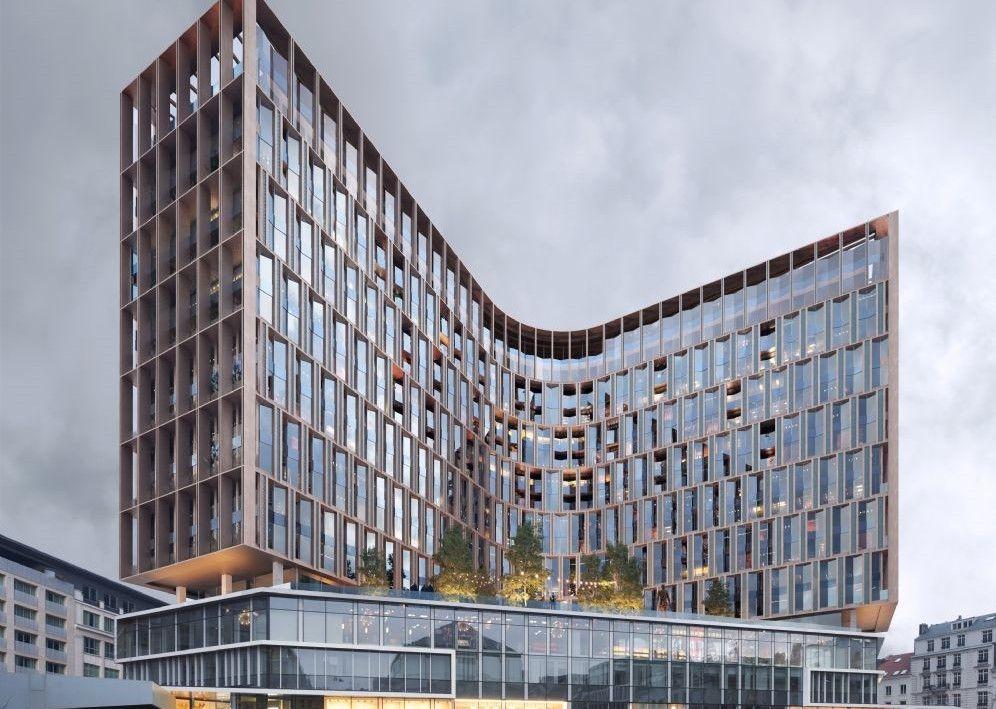Snøhetta et Binst Architects redessineront le Centre Monnaie