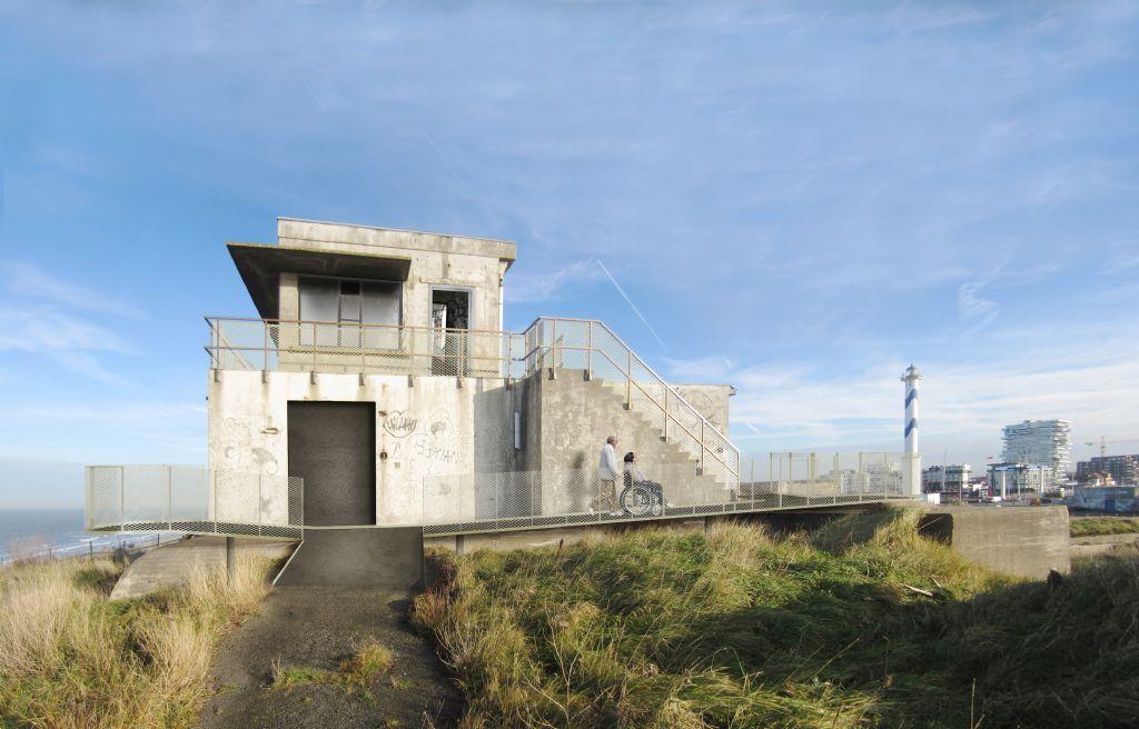 Herbestemming van een duinsite met militair erfgoed in Oostende