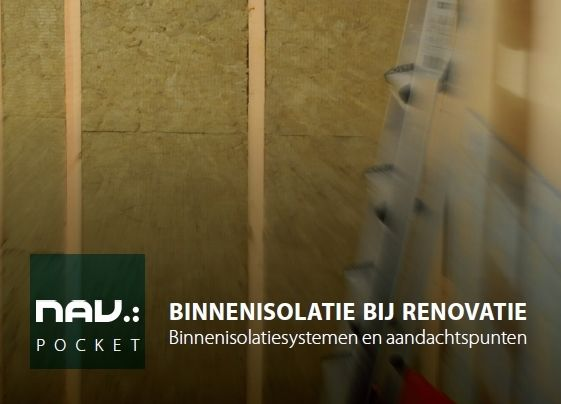 Nieuwe NAV-pocket 'Binnenisolatie bij renovatie'