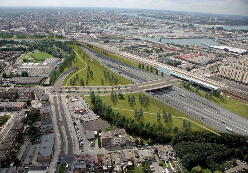 Grontmij en Witteveen+Bos verhogen leefbaarheid Antwerpen met tunneloplossing