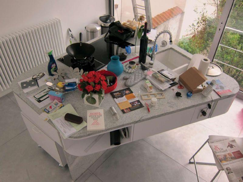Een wastafel ontworpen door Doorzon.