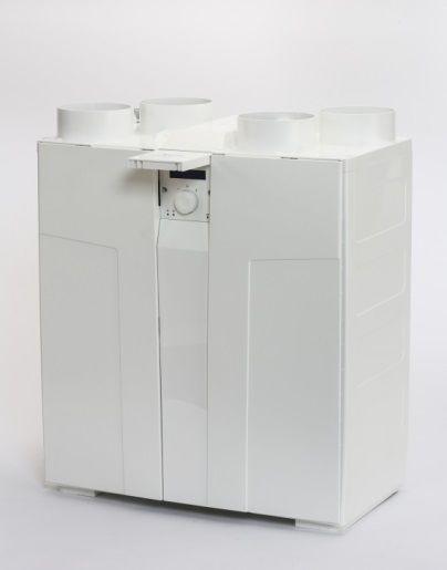 De Zehnder ComfoAir Compact is ideaal voor kleinere woningen en appartementen.