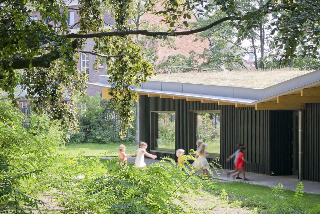 Nieuwe parkklassen Groenendaal schoolvoorbeeld van duurzaamheid en innovatie (HUB)