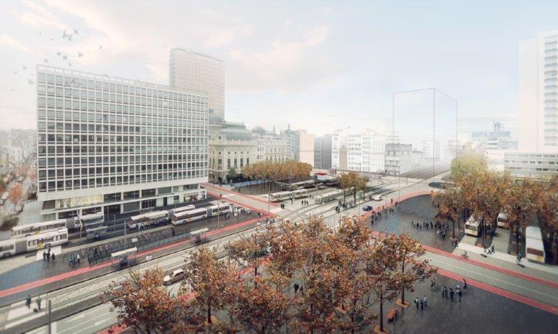 Noorderlijn Antwerpen: nieuwe tramverbindingen en kwalitatieve publieke ruimte