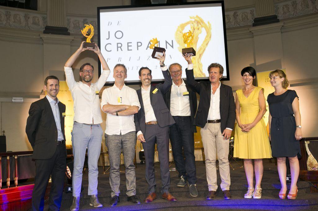 Bij de vorige editie in 2017 zijn Callebaut-architecten, OMGEVING en Coussée & Goris bekroond met de Jo Crepain Prijzen.