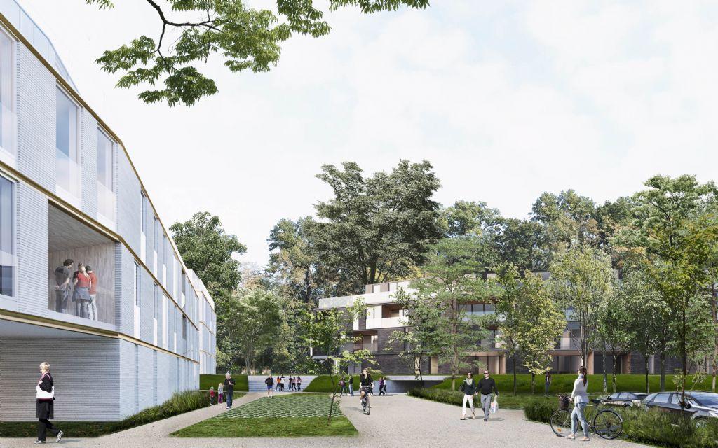 Historische Panquin-site in Tervuren krijgt nieuwe bestemming