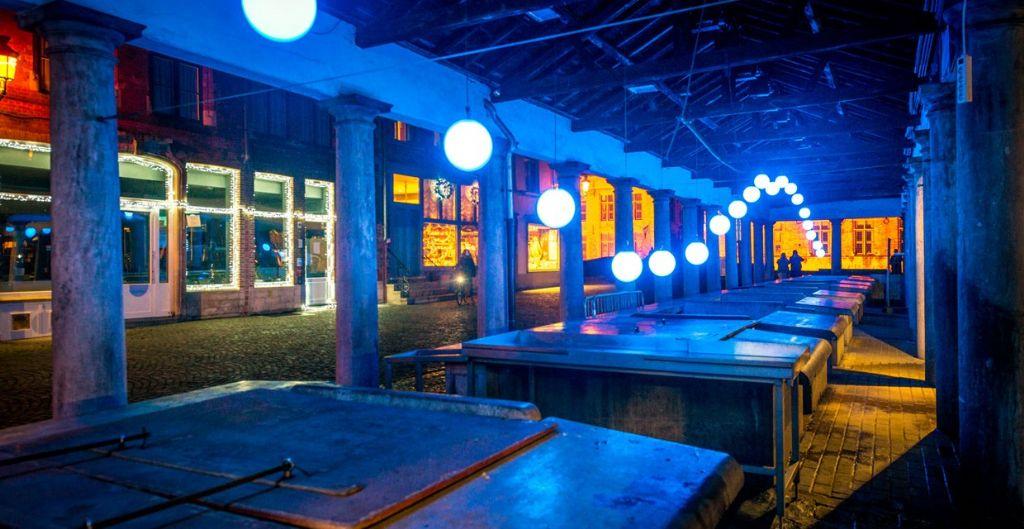 Magisch Wintergloed lichtparcours in Brugge