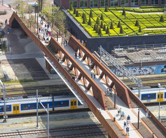 De Paleisbrug in 's-Hertogenbosch
