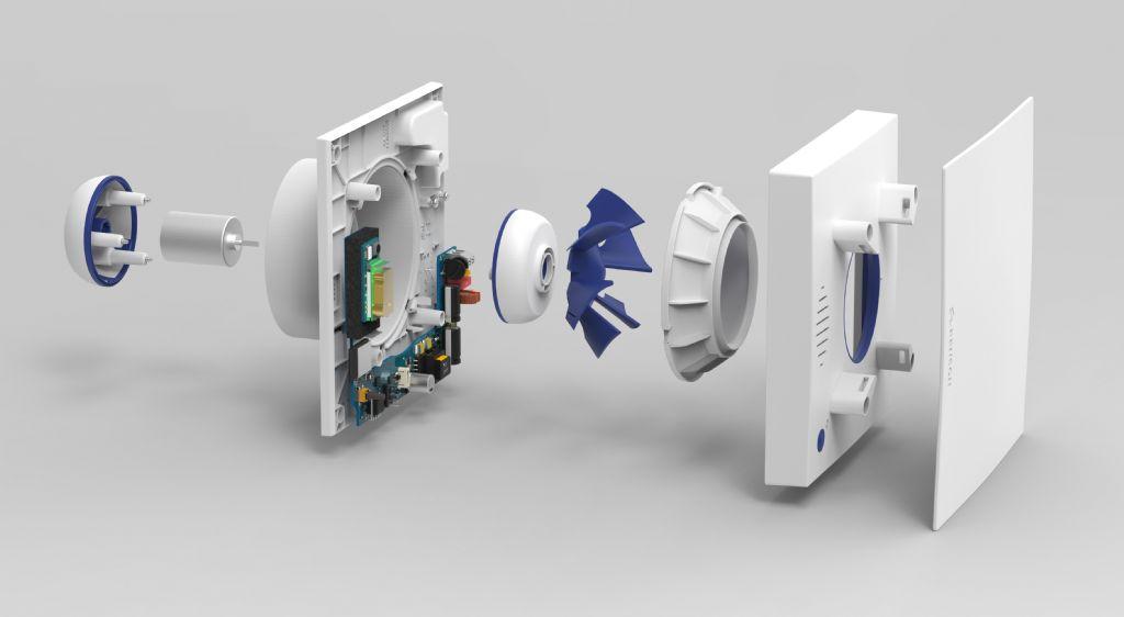 Facq s'associe avec Renson pour un système de ventilation intelligente