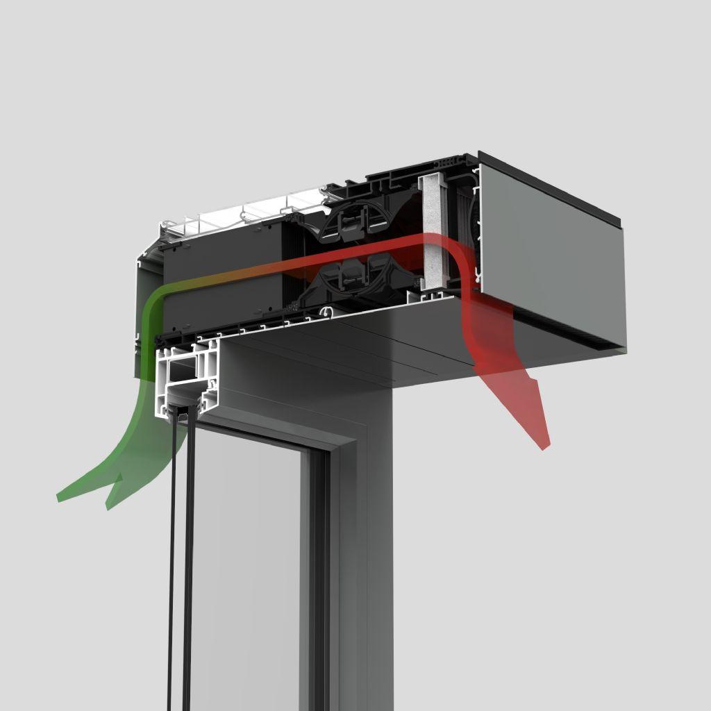 Endura Twist : ventilation décentralisée avec récupération de chaleur