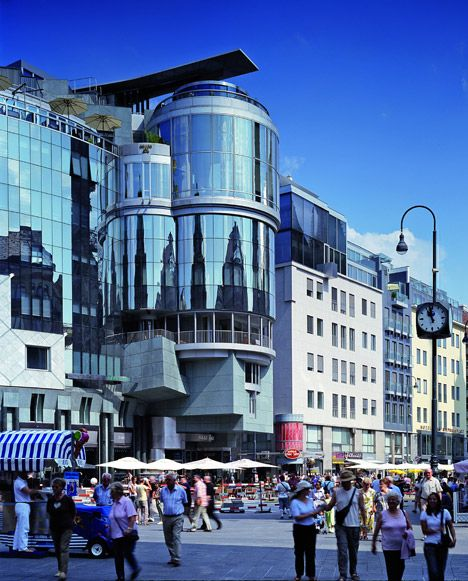 Haas House in Wenen, 1985-1990.