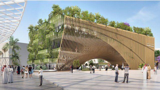 ASSAR Architects & Vincent Callebaut signeront l'arche-jardin à Dubaï en 2020