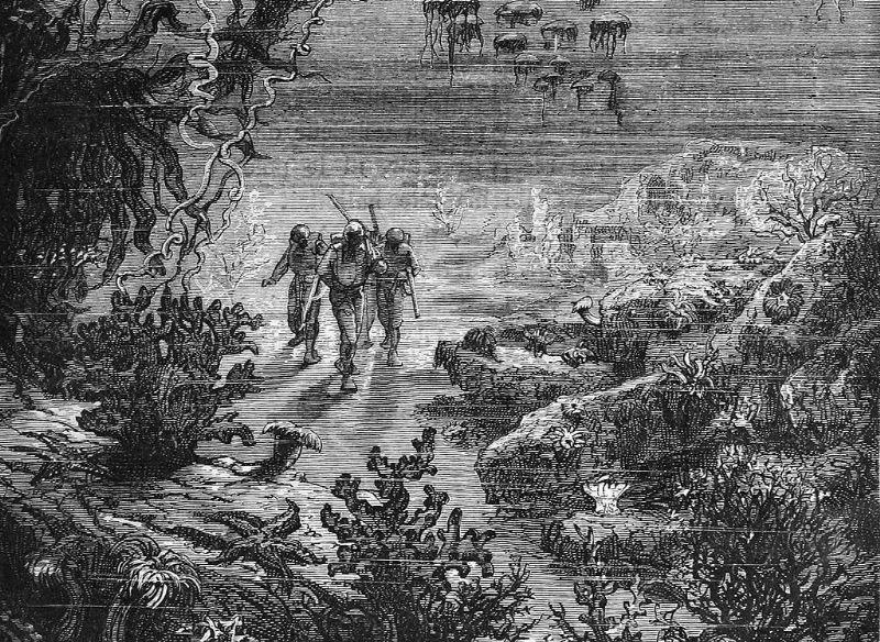 Twintigduizend mijlen onder zee, van Jules Verne