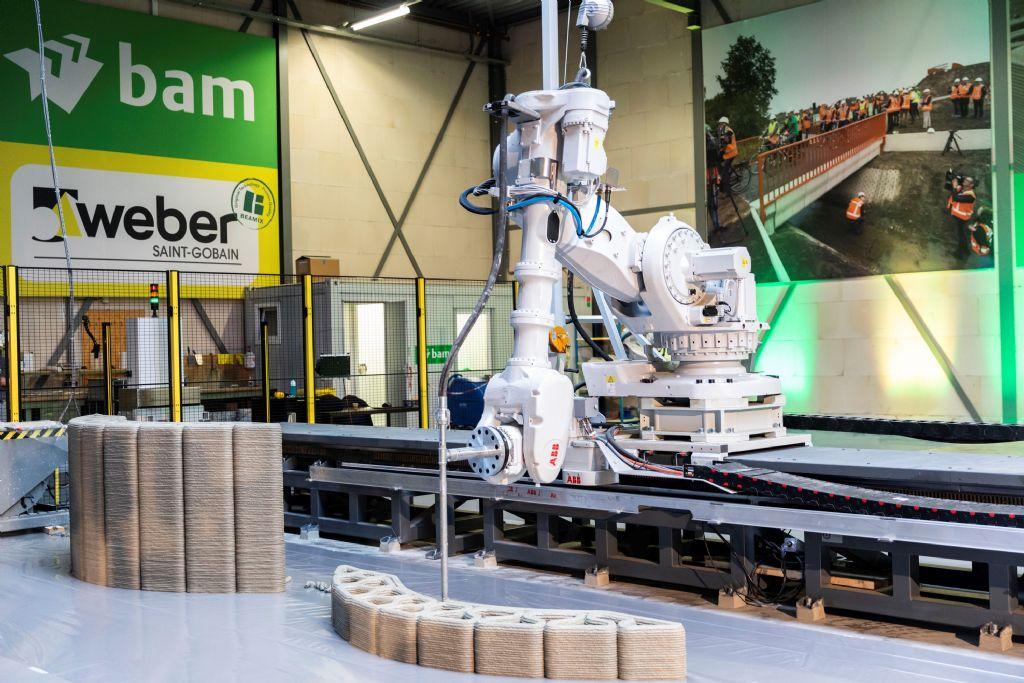 Eerste Europese 3D-betonprintfabriek geopend in Eindhoven