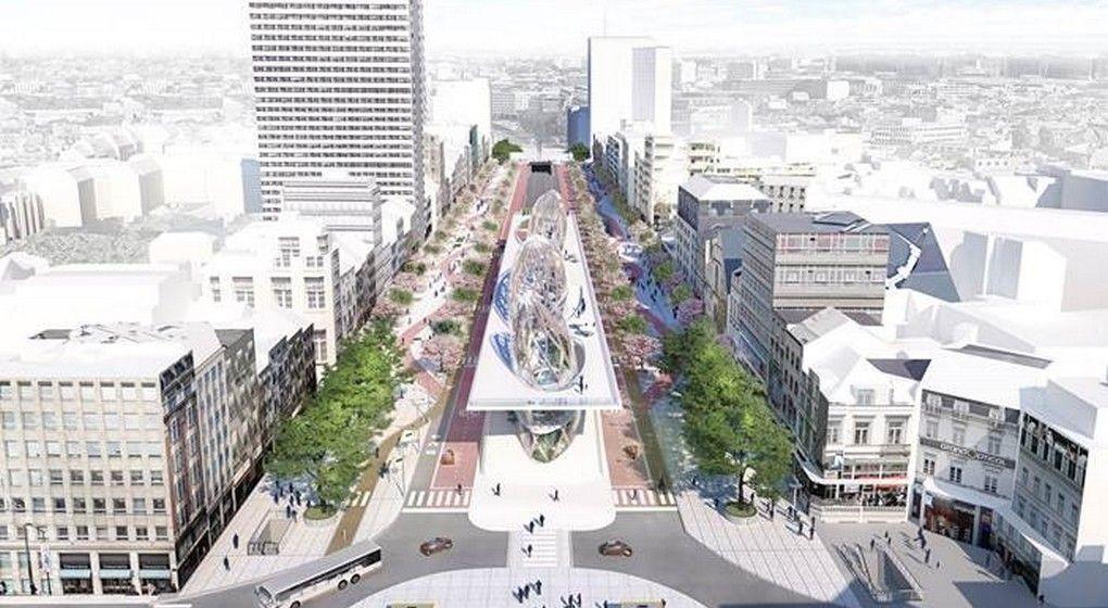 Champs Elysées bruxellois : une contre-proposition s'organise