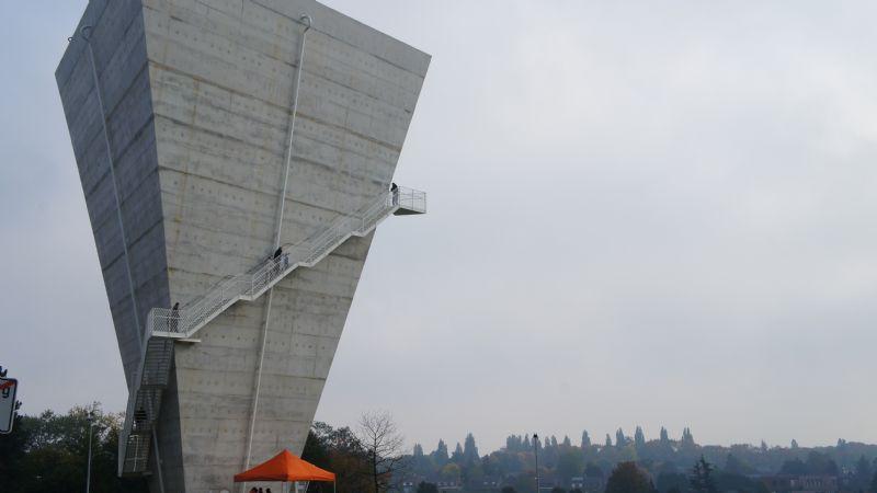 De watersilo van Beersel, een monument in het landschap