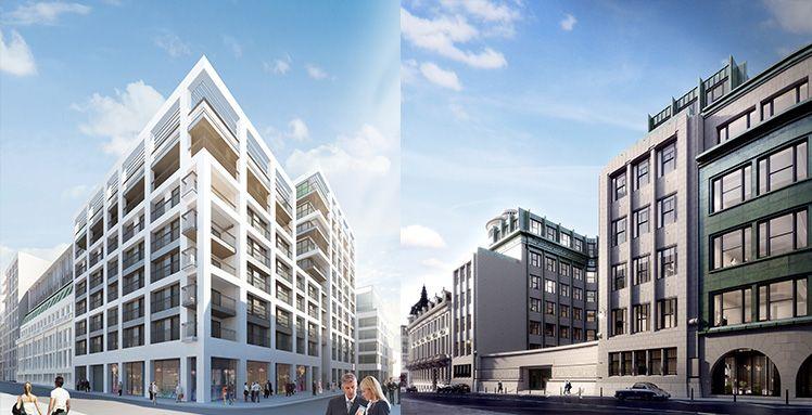 Het Chambon-complex in Brussel