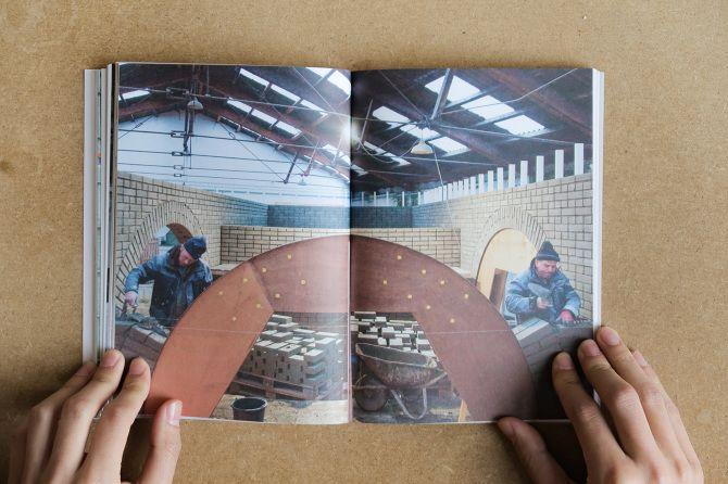 Op de openingsdag van de tentoonstelling wordt het boek 'The act of building' officieel gereleased in België.