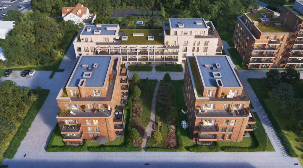 De Architecten NV ontwerpt nieuwe woonwijk De Tuilerie in Diest