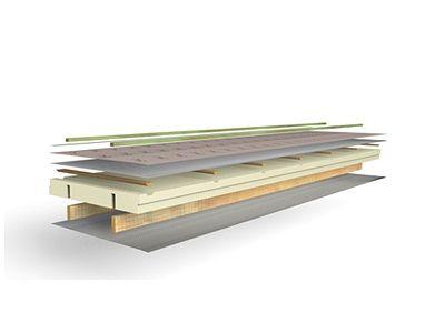 L-Ments, éléments de toit autoportants et isolés thermiquement pour toitures inclinées