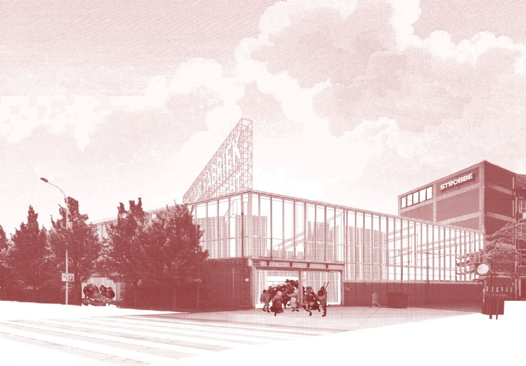 BeL Sozietät für Architektur en Bureau Bouwtechniek transformeren oude drukkerij in Izegem tot bruisende cultuurfabriek