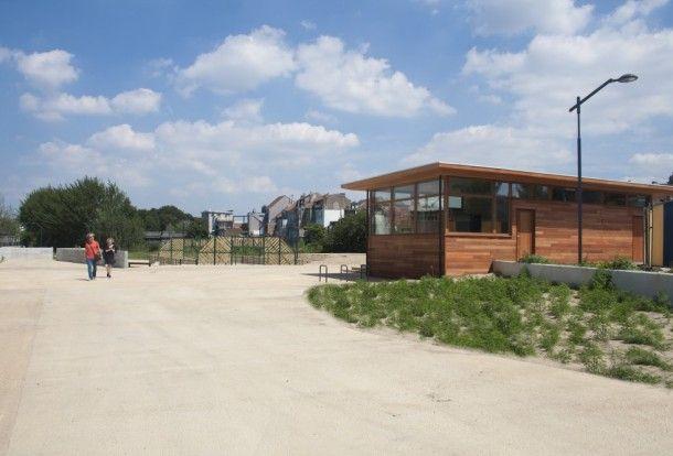 Un nouveau parc sur d'anciens terrains industriels bruxellois