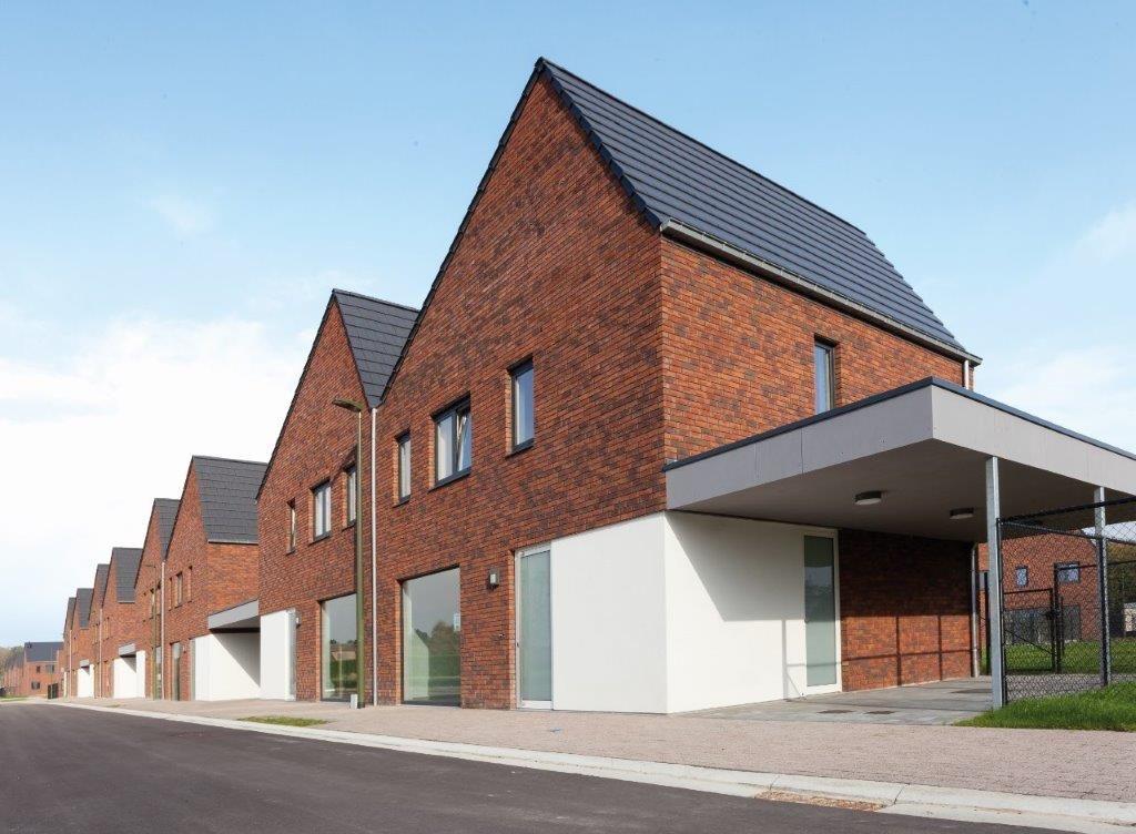 Het sociale woonproject Kerselant moet de gemeente Geetbets helpen om het doel van 66 huurwoningen tegen 2025 te behalen. (Beeld: Gemoco)