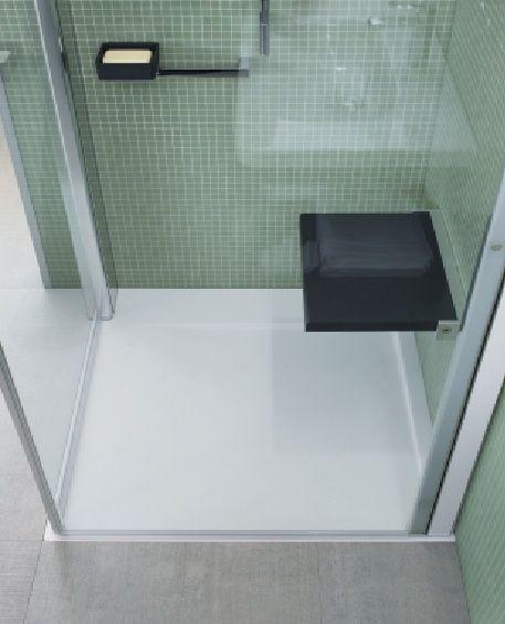 Op elkaar afgestemde accessoires maken de douche-ervaring compleet.