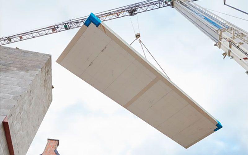 Met de onderzochte innovatieve geprefabriceerde houtskeletconstructie worden bijzonder goede akoestische prestaties in situ bereikt.