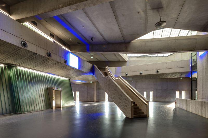 Vrijhaven voor kunstschatten en luxegoederen met gedoseerde lichtinval