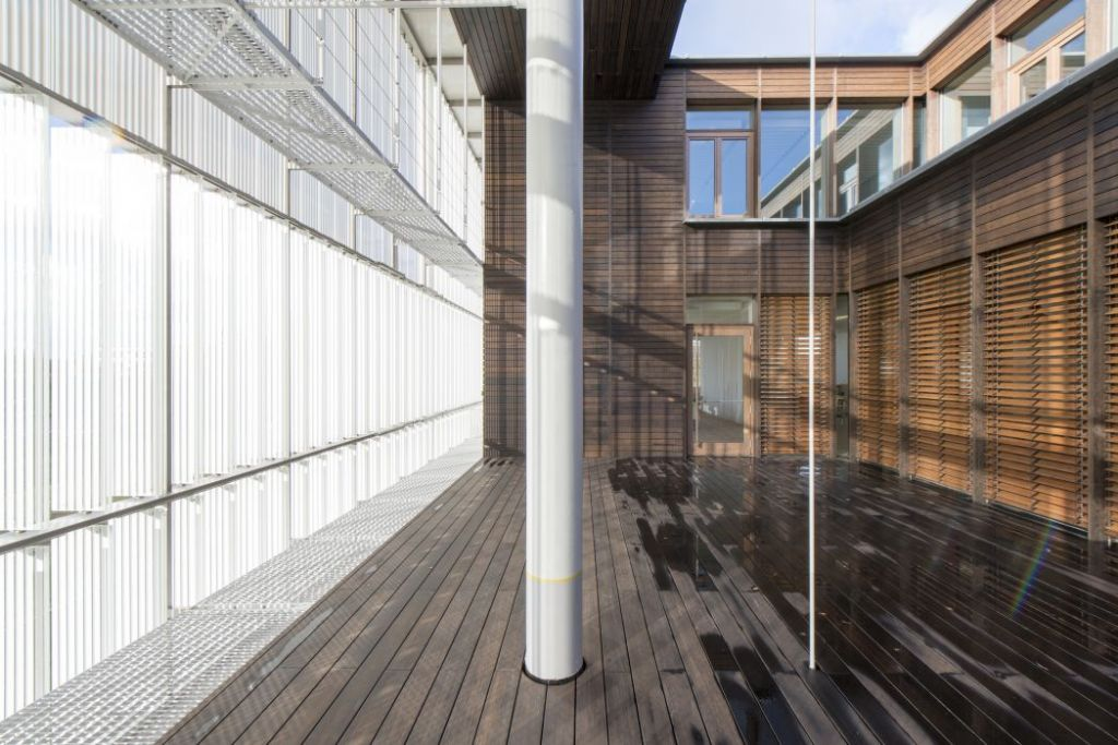 Head office of AGC Glass Europe (Louvain-La-Neuve) Philippe SAMYN and PARTNERS sprl, architects & engineers – BEAI sa