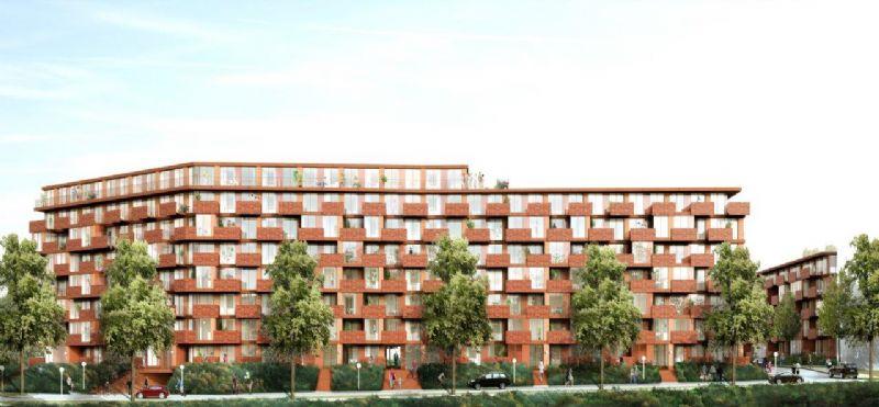 Erasmus: 210 passieve sociale woningunits in Anderlecht (MDW architecture)