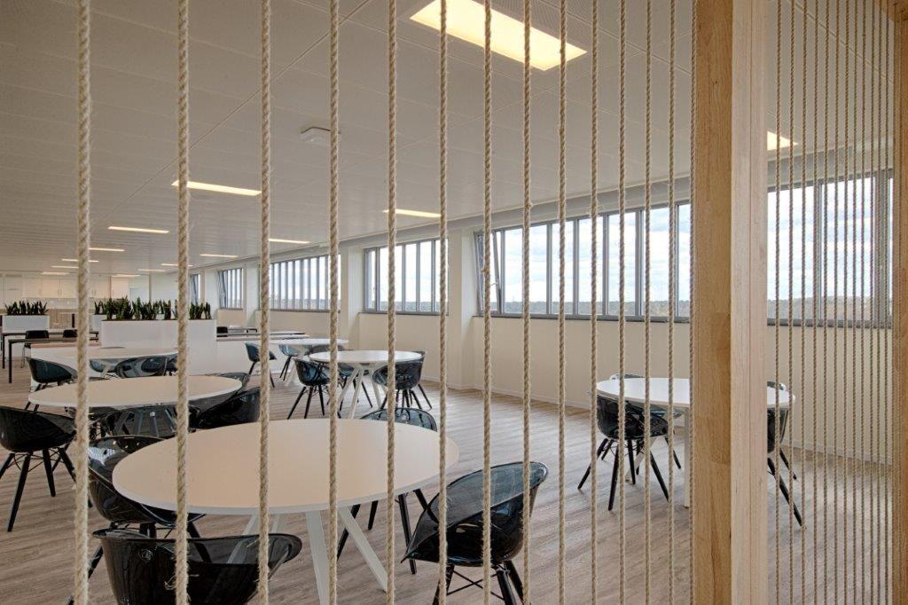 Binnenin is er geopteerd voor een droge afbouw. (Beeld: Eddy Vanoppen (Fotomakers) – Willemen Construct)