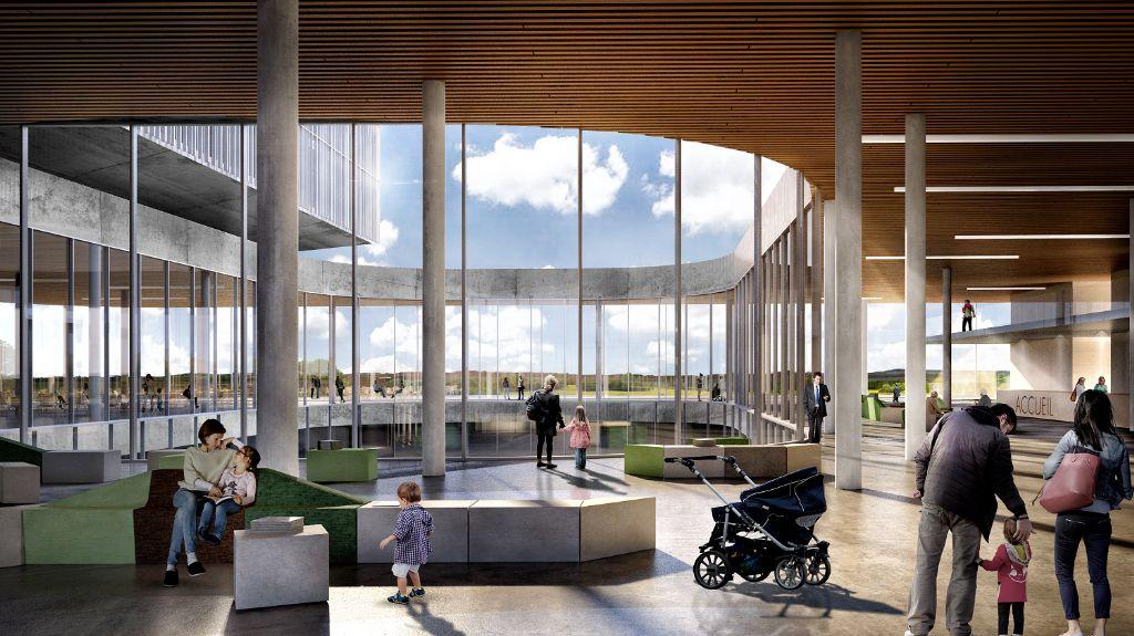Team onder leiding van archipelago I baev realiseert nieuw ziekenhuis CHR Centre Sud