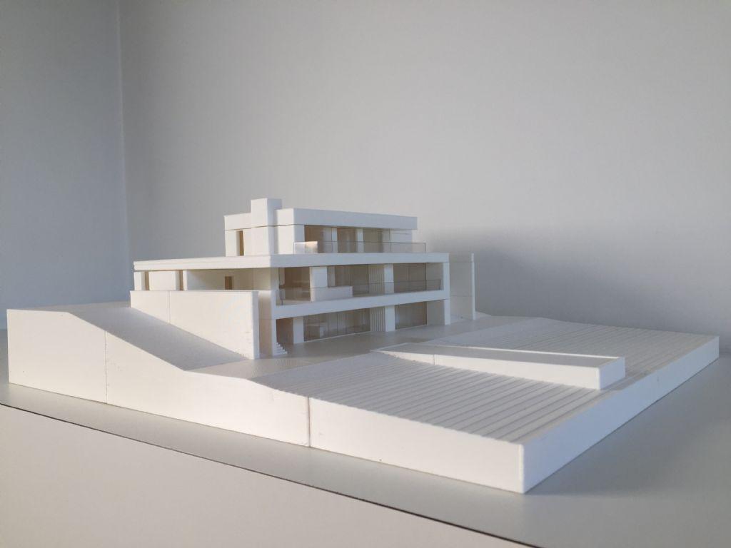 Gewikt en Gewogen: Anja Vissers over een 3D-geprinte maquette