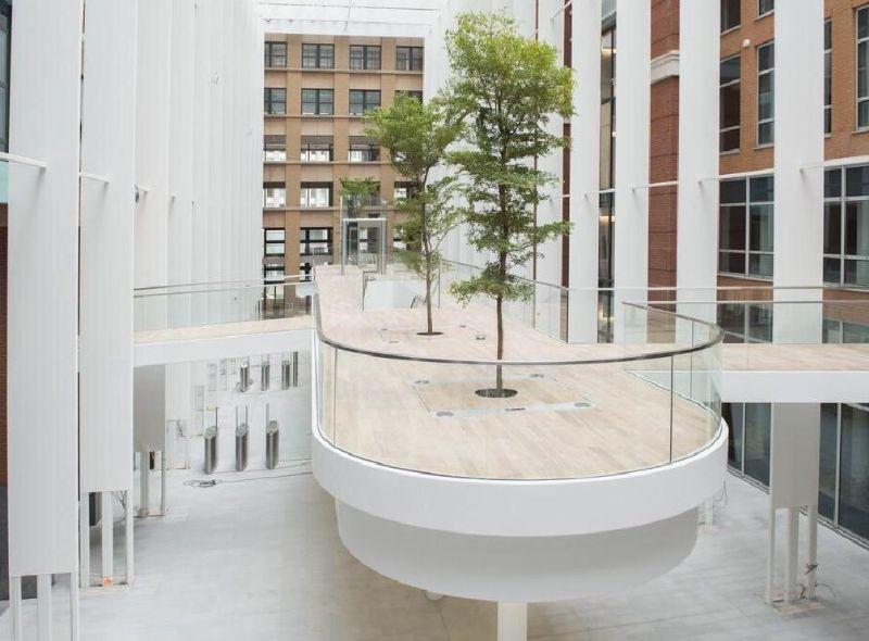 Kantoorgebouw in Den Haag met Batyline AW