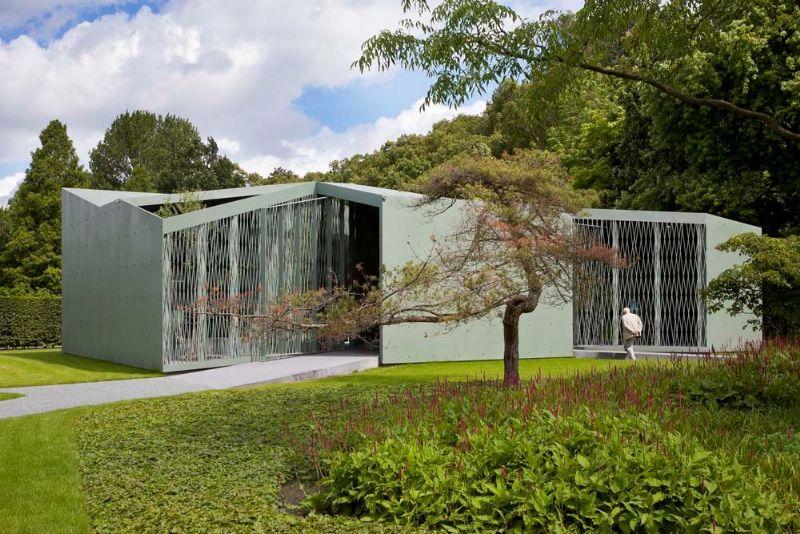 'Het Huis' in Middelheimpark Antwerpen van Robrecht en Daem.