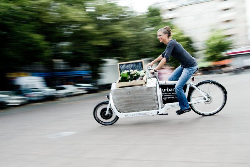 Cyclelogistics: fietsen boven in de stad