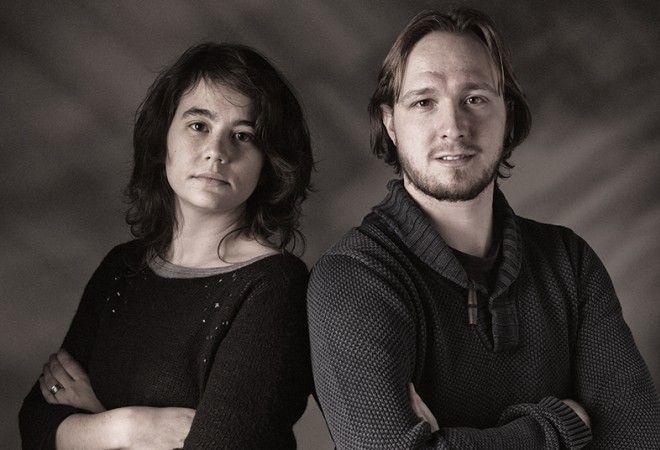 Valerie Van Gucht en Kevin Nechelput van Aeon Architecten