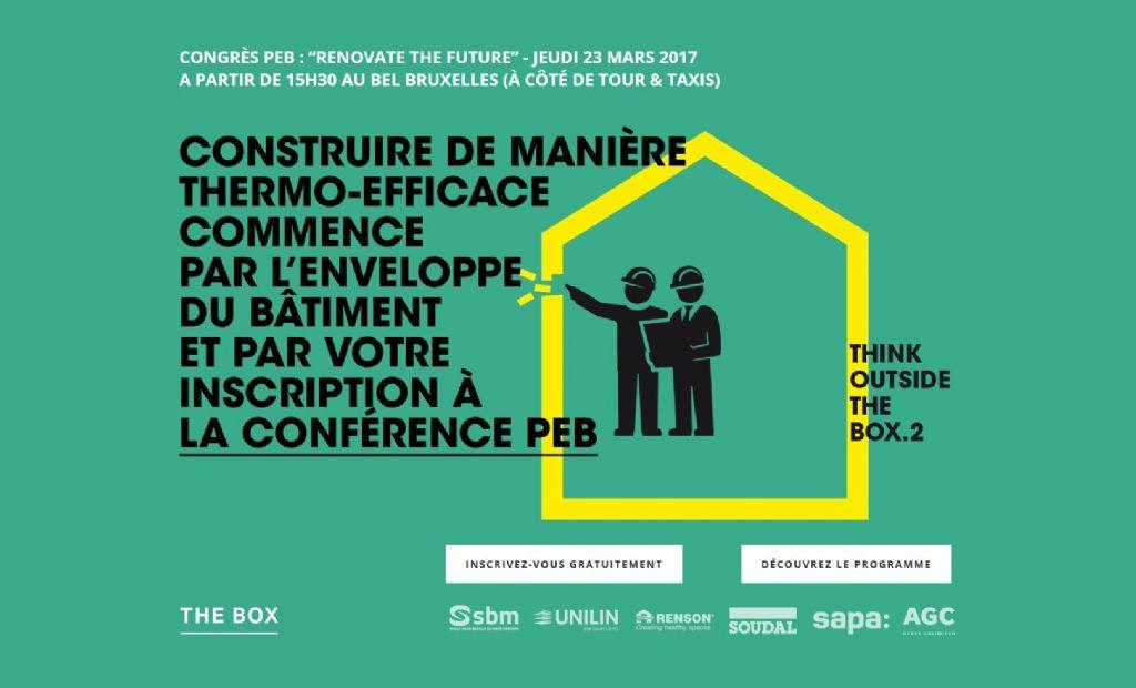 Congrès PEB : Rénover intelligemment commence par l'enveloppe du bâtiment