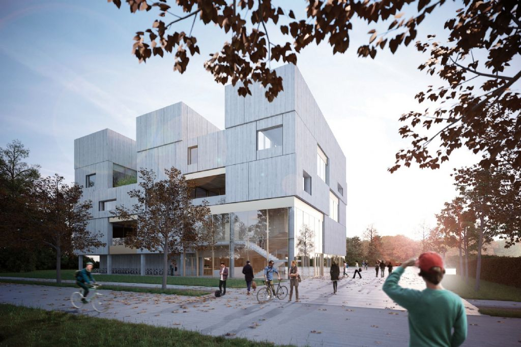 Abscis Architecten geeft uitvalsbasis UGent in Kortrijk vorm