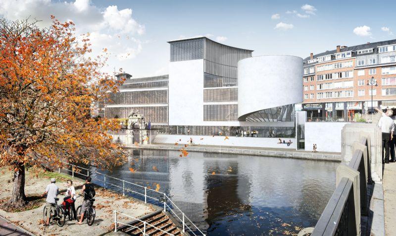 La Maison de la Culture de la Province de Namur date du début des années 1960 et est l'oeuvre de Victor Bourgeois. Le chantier de sa rénovation et extension, confié à Philippe Samyn, démarrera en septembre prochain.