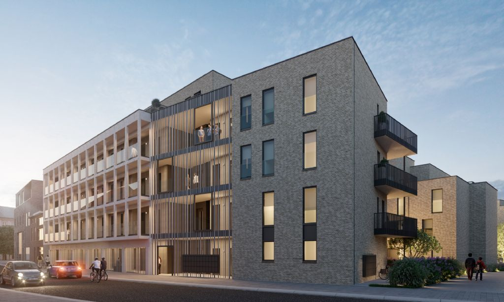 dbv architecten tekent nieuw woonproject Hastrid in eigen stad