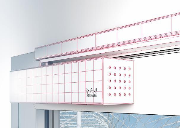 DORMA met des modèles BIM à la disposition des architectes