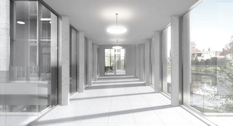Open werkruimtes moeten een aangename werksfeer creëren © Tony Fretton Architects