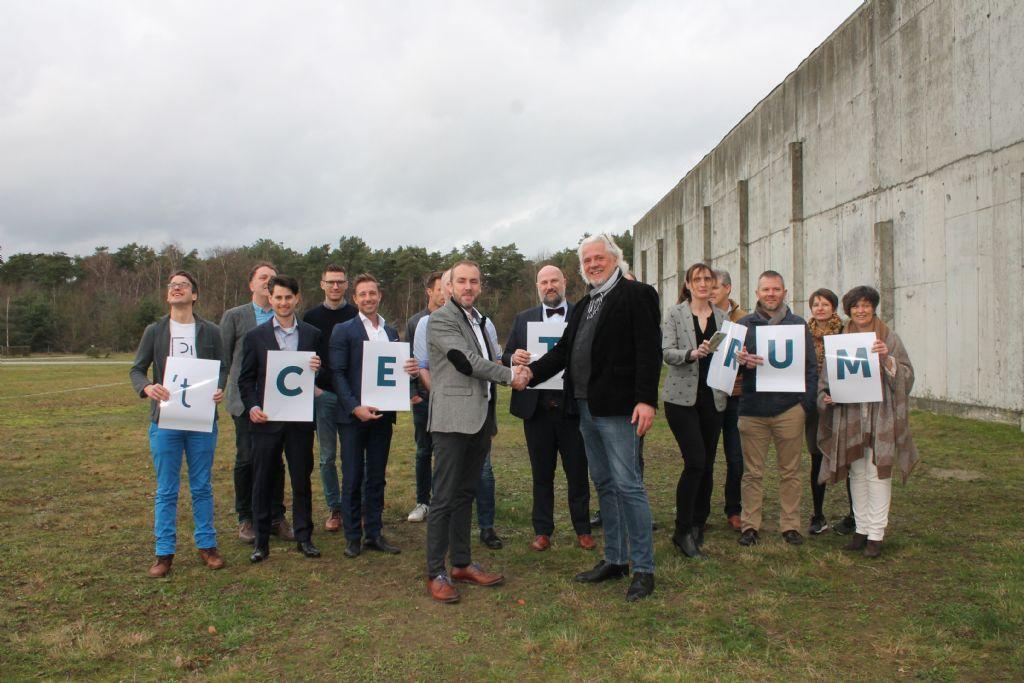 """""""Kamp Circulair"""" bouwt op Kamp C het eerste volledig circulair gebouwde bedrijfsgebouw van België"""