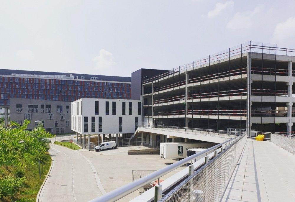 Case: Logistiek Platform Gasthuisberg volop in bouw